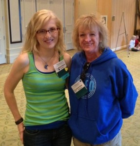 Suzanne and I reunited at the NFED Conference in Orlando in 2012.
