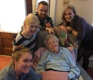 Last visit with Gram