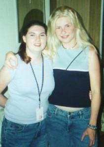 Kristina and me