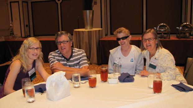 The MacDonald clan and me at the 2012 NFED Conference in Orlando