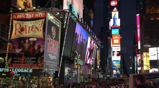New York, New York – Big Bus Night Tour