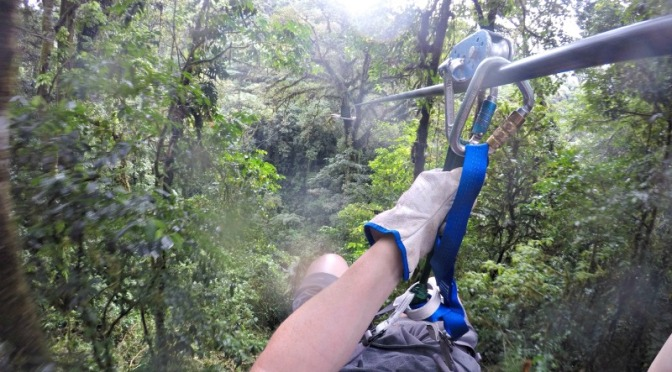 Costa Rica Zipline Video