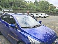 Our rental car, Blue!