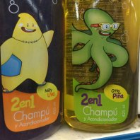 Otto is a pineapple scented shampoo octopus?