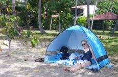 Chillin in my tent