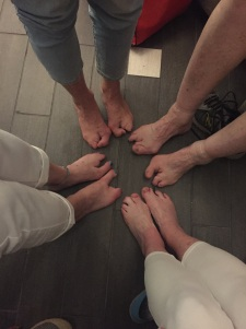 A collection of EEC feet